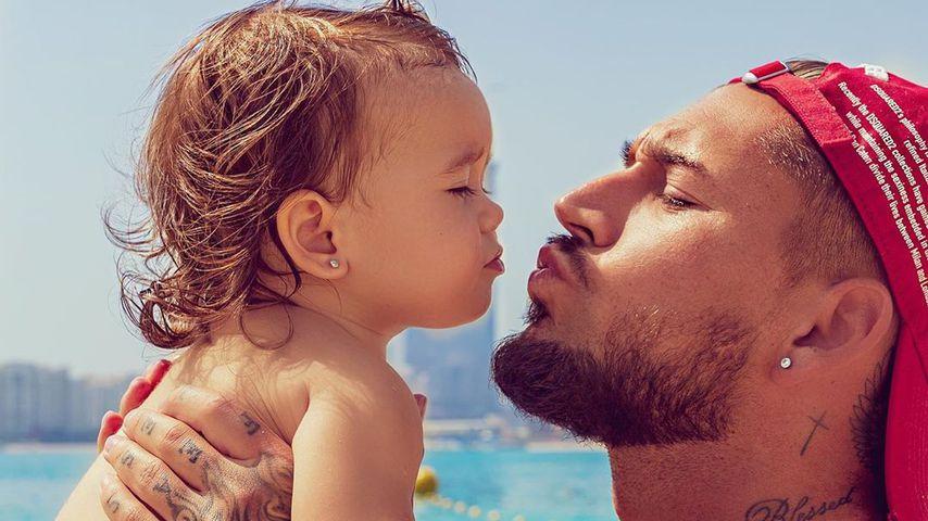 Nach Wochen: Mike Heiter sieht endlich seine Tochter wieder