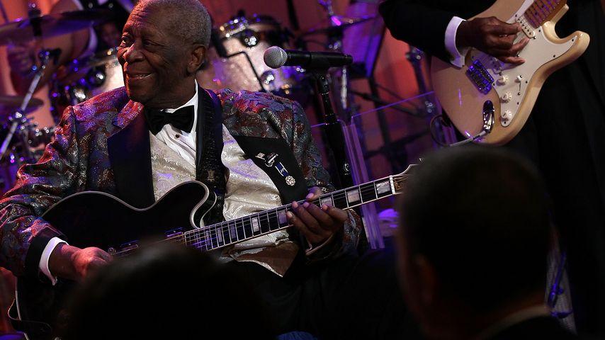 B.B. King: Blues-Legende stirbt mit 89 Jahren