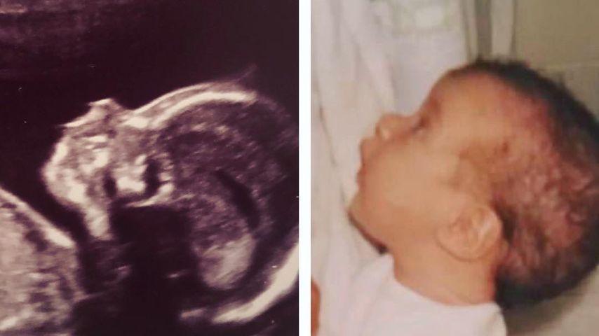 Baby-Collage von Gemma Atkinson