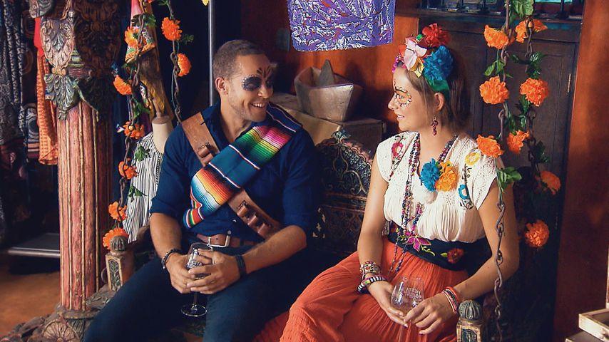Bachelor Andrej Mangold mit Kandidatin Jennifer Lange