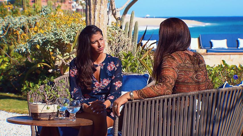 Bachelor-Kandidatin Eva und Mama Monika