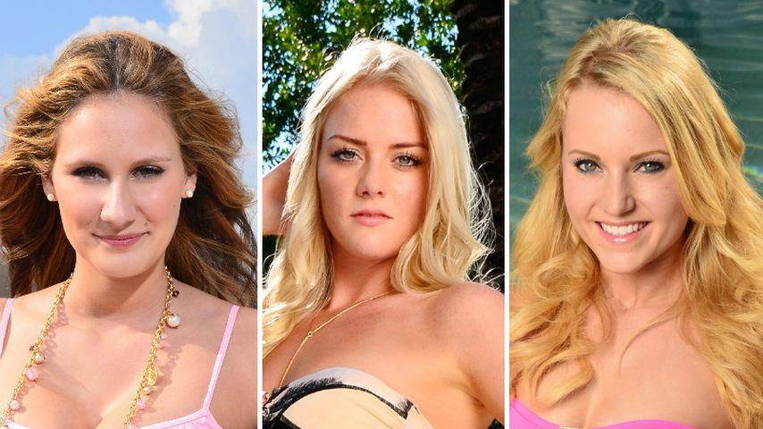 Leonie Pump, Daniela Buchholz und Leonie-Rosella Gast