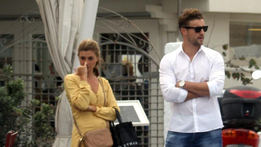 Bachelorette Nadine Klein mit Alexander Hindersmann im Oktober 2018 in Griechenland