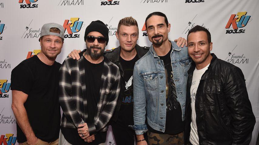 Die Backstreet Boys im Juni 2018