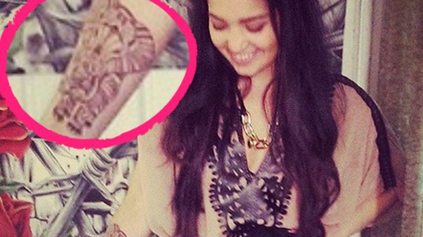 Elefantöses Tattoo: Bahar Kizil erneut verziert!