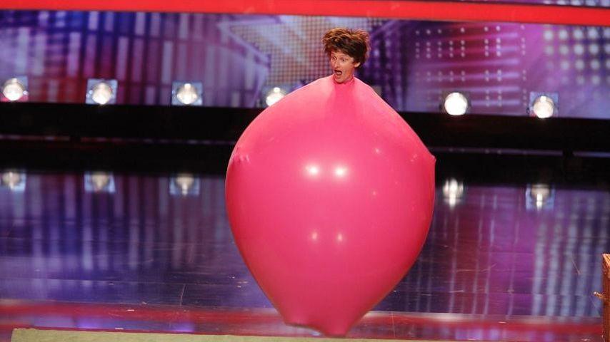 Supertalent: Lebender Luftballon lässt's knallen!