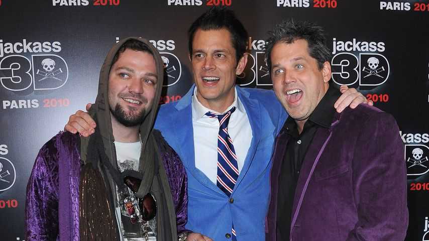 Bam Margera, Johnny Knoxville und Jeff Tremaine, 2010