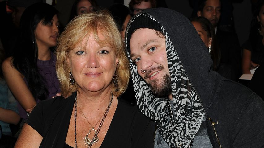 Bam Margera und seine Mutter April (v.r.)