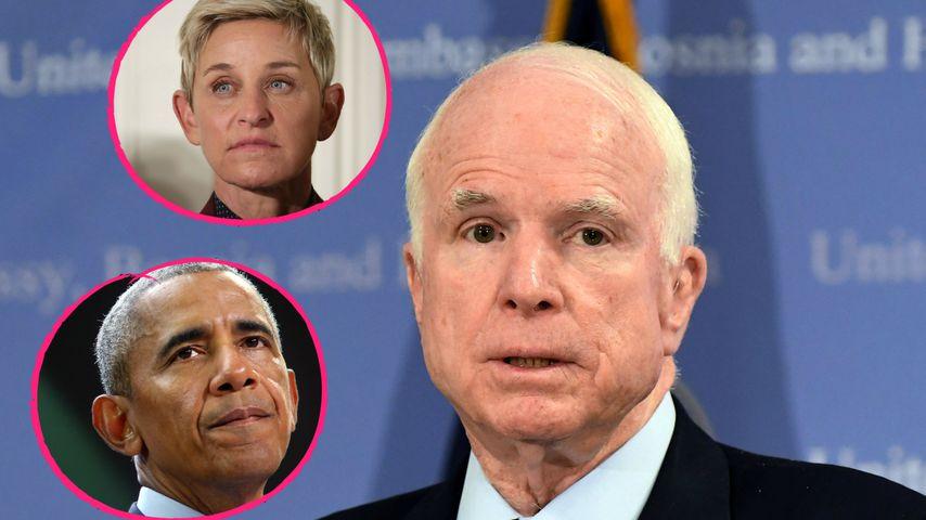 Große Anteilnahme: Promis trauern um US-Senator John McCain!