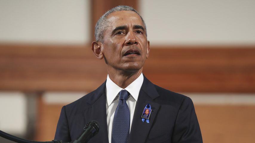 Barack Obama im Juli 2020 in Atlanta