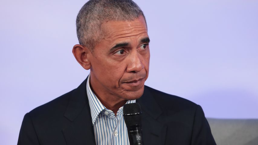 Barack Obama bei einer Tagung in Chicago im Oktober 2019