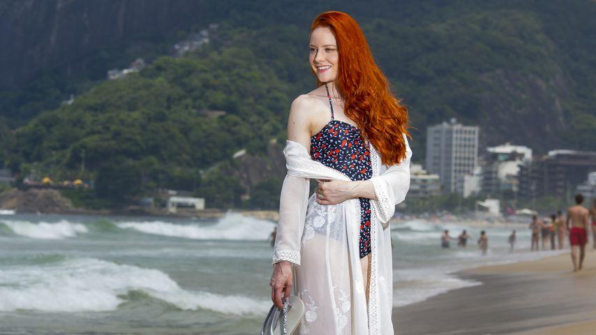 Model Barbara Meier in Rio de Janeiro