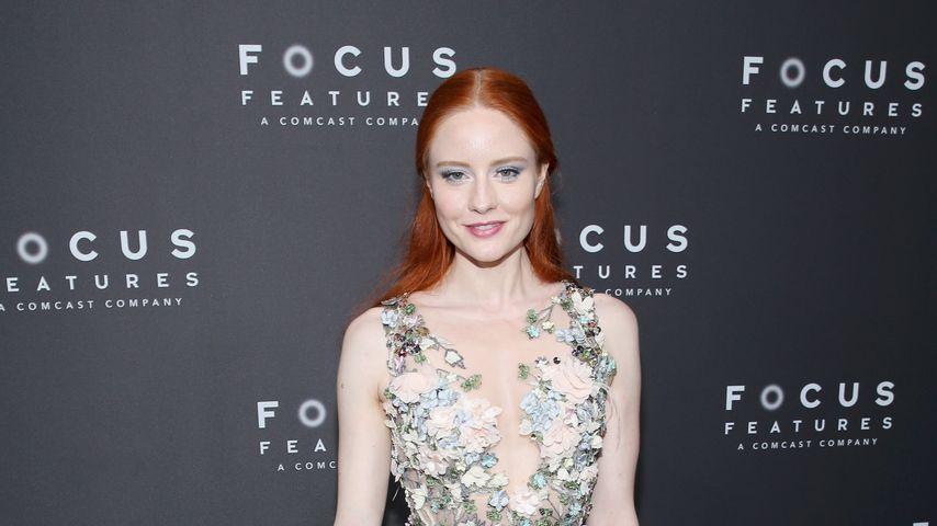 Barbara Meier bei den Golden Globes 2018