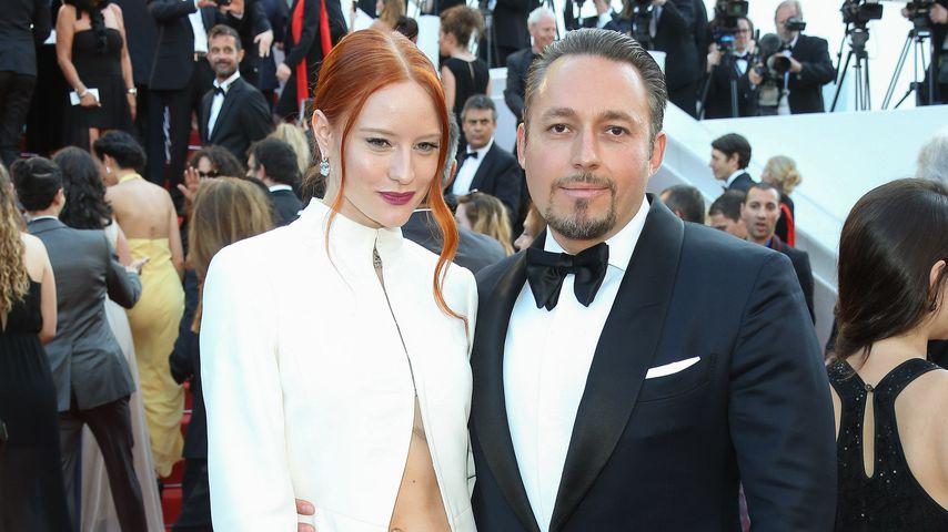 Barbara Meier und Klemens Hallmann beim 69. Filmfestival in Cannes