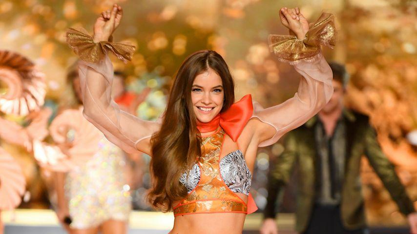 Model Barbara Palvin bei der Victoria's Secret Fashion Show 2018