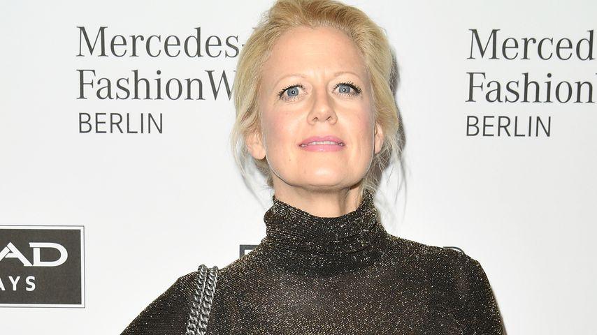 Barbara Schöneberger bei der Berlin Fashion Week Herbst/Winter 2017