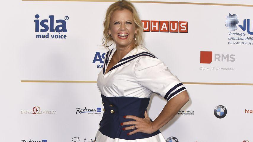 Barbara Schöneberger beim Deutschen Radiopreis in Hamburg im September 2019