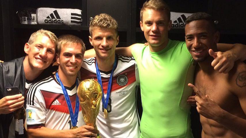 Vor sechs Jahren: Thomas Müller teilt WM-Throwback-Foto