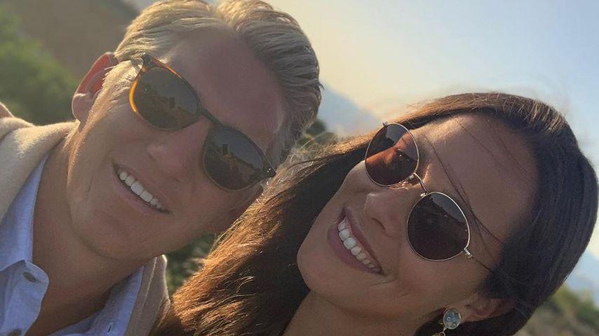 Bastian Schweinsteiger und Ana Ivanović im Juni 2020