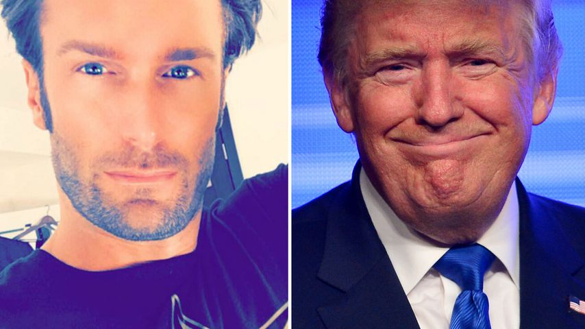 Bastian Yotta und Donald Trump