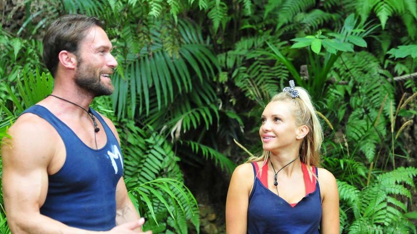 Bastian Yotta und Evelyn Burdecki im Dschungelcamp