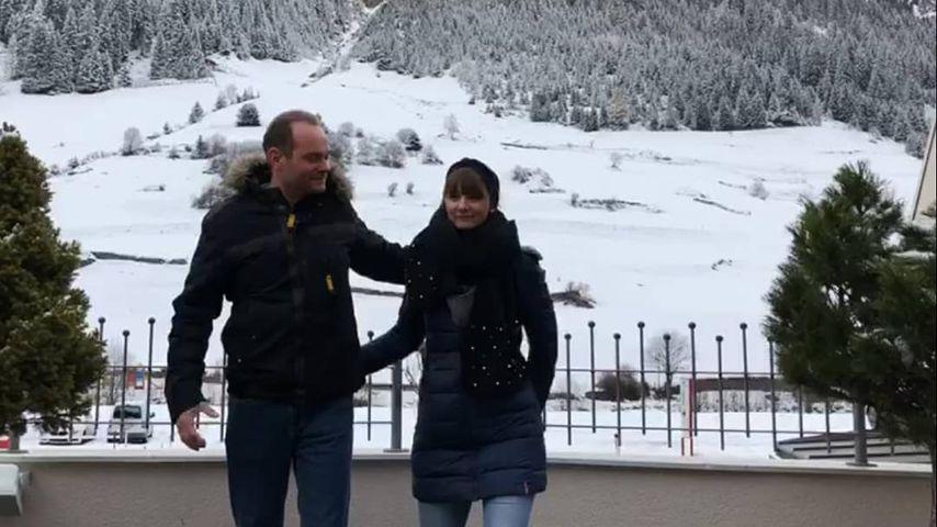 """""""Bauer sucht Frau""""-Hesse Kai und Freundin Lena in Ischgl, Dezember 2019"""
