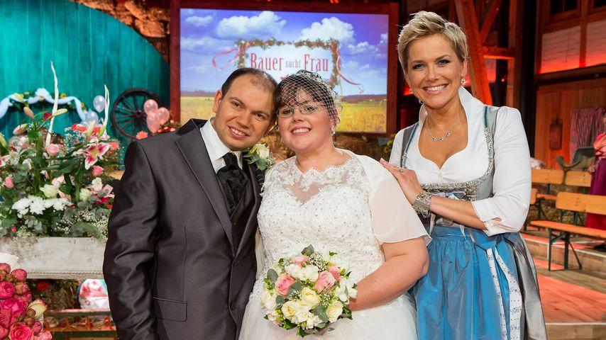 Bauer sucht Frau: TV-Hochzeit bei Martin und Jenny!