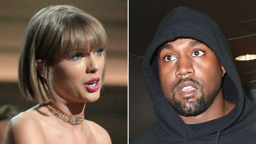 Beef bei den Grammys: Taylor Swift rächt sich an Kanye West!