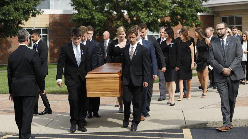 Eine ganze Stadt in Trauer: Otto Warmbier zu Grabe getragen