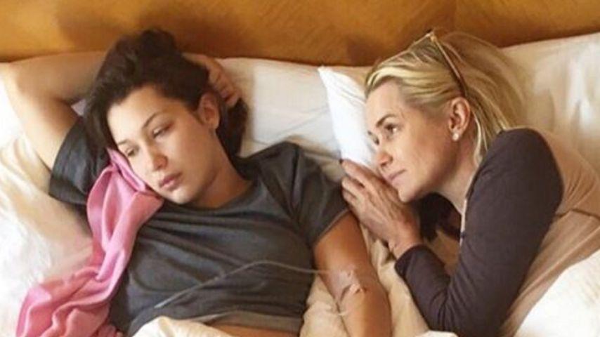 Olympiatraum geplatzt: Bella Hadid plagt Familienkrankheit!