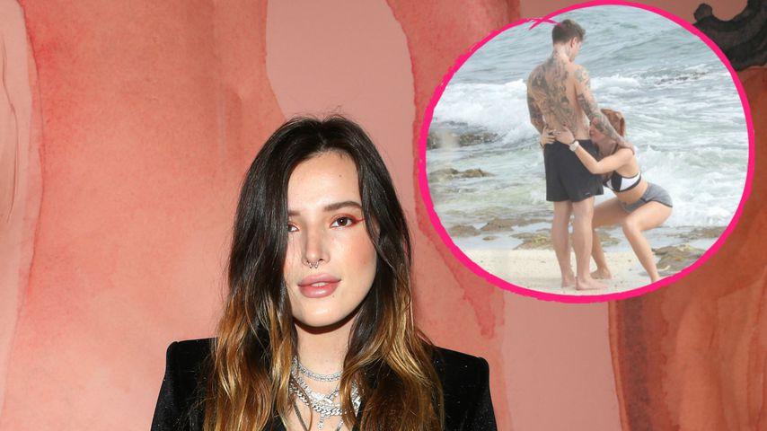 Huch! Was macht Bella Thorne denn da mit ihrem Freund?