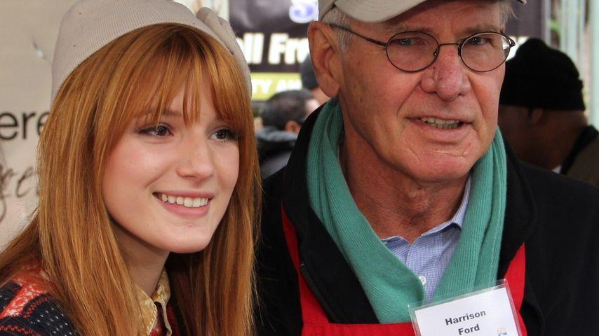 Was machen Harrison Ford und Bella Thorne denn da?