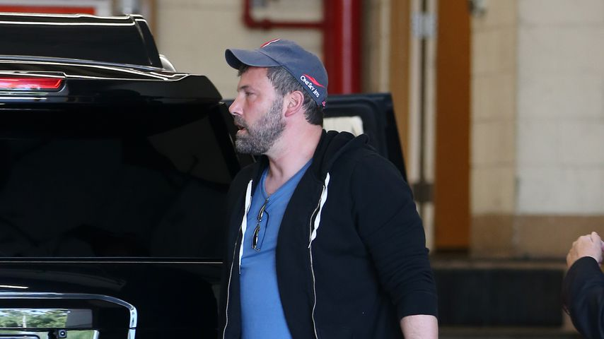 Ben Affleck auf dem Weg in die Warner Brother Studios in Burbank