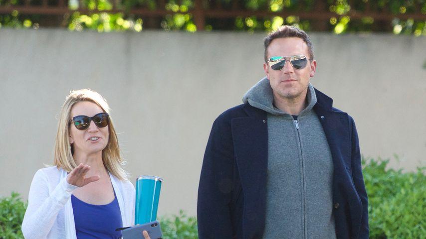 Ben Affleck mit einer Unbekannten in Los Angeles