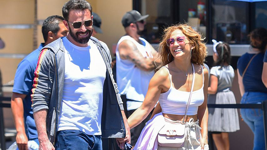 Ben Affleck und Jennifer Lopez, Juli 2021