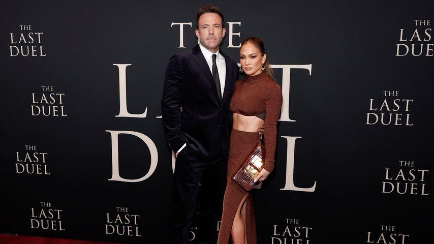 Jennifer Lopez im sexy Bauchfrei-Look bei Datenight mit Ben