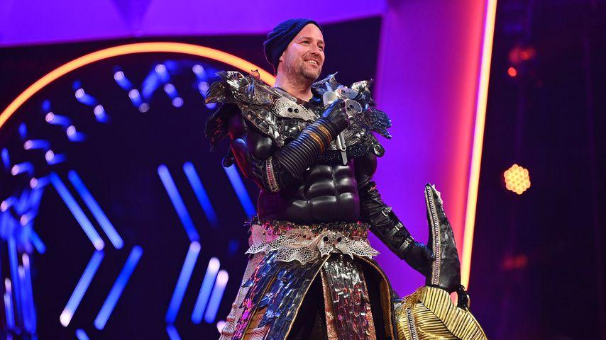Backstage-Spielchen: Ben hatte Spaß an böser Anubis-Rolle