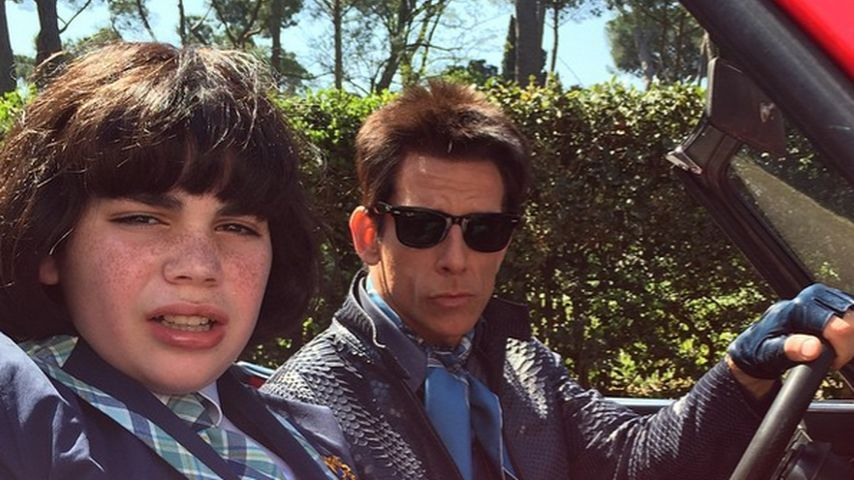 """Film-Nachwuchs: Hier zeigt Ben Stiller """"Zoolanders"""" Sohn"""