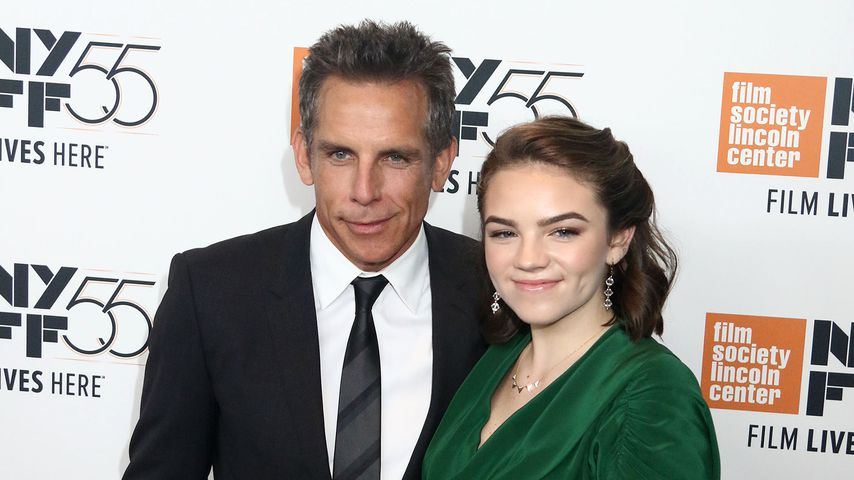 Ben Stiller und seine Tochter Ella, Oktober 2017