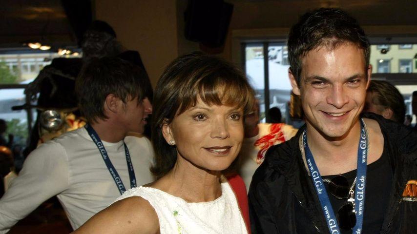 Uschi Glas und ihr Sohn Ben Tewaag
