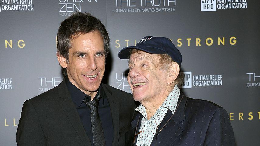 Die Schauspieler Ben und Jerry Stiller