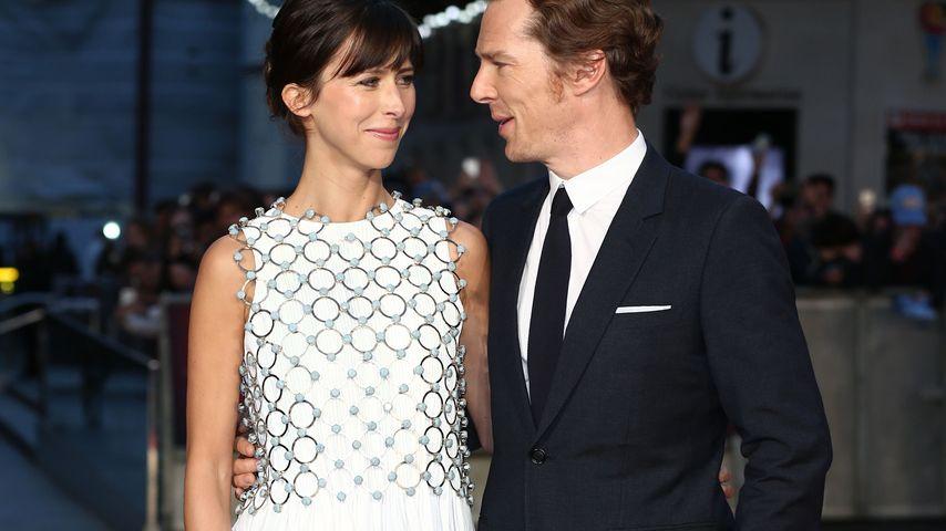 Benedict Cumberbatch & Sophie: 1. Auftritt nach Baby-Geburt