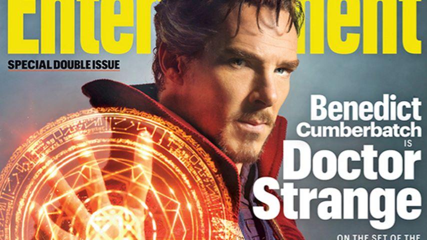 Neuer Marvel-Held: Benedict Cumberbatch spielt Dr. Strange!