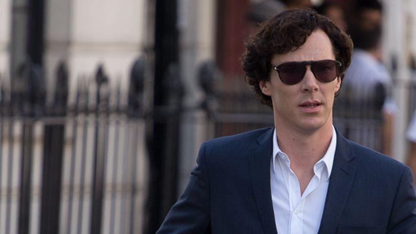 Smart! Benedict Cumberbatch benutzt die Paparazzi