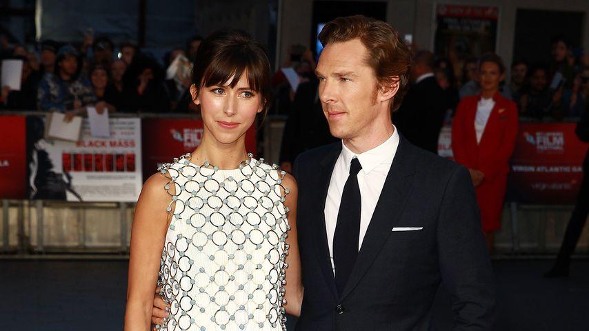 """Sophie Hunter und Benedict Cumberbatch bei der Premiere von """"Black Mass"""""""
