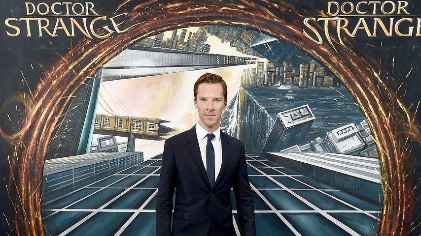 """Benedict Cumberbatch bei einem Fan-Screening von """"Doctor Strange"""""""