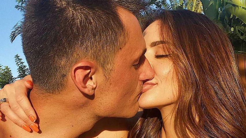 Bernard Tomic und Vanessa Sierra