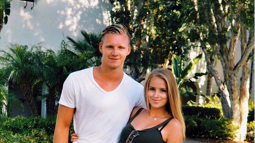 Bernd Leno und seine Freundin Sophie Christin