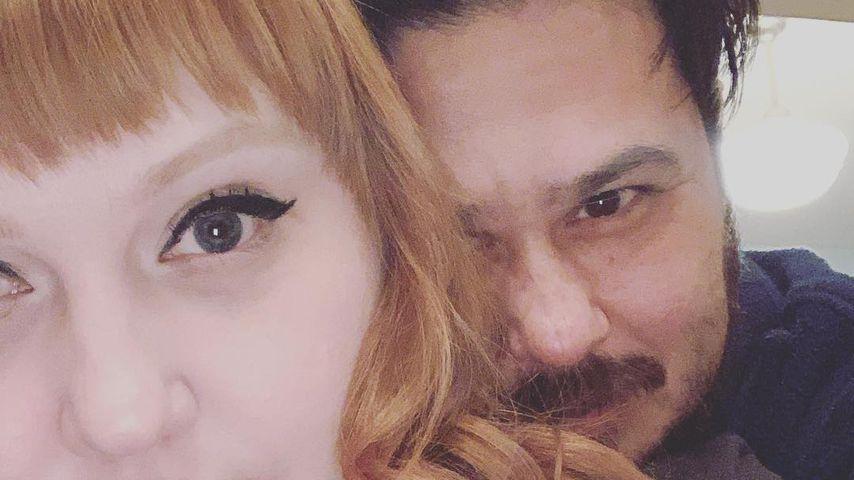 Beth Ditto und Teddy Kwo im März 2019