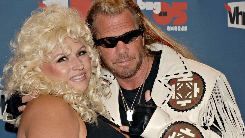 "Beth und Duane ""Dog"" Chapman bei den VH1 Big In '05 Awards"